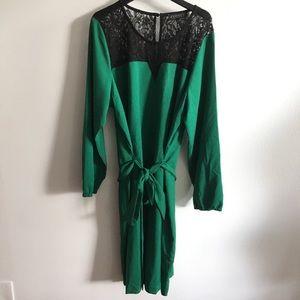 Eloquii Jewel Green Dress